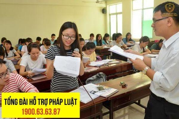 Dự thảo luật giáo dục quy định về miễn giảm học phí
