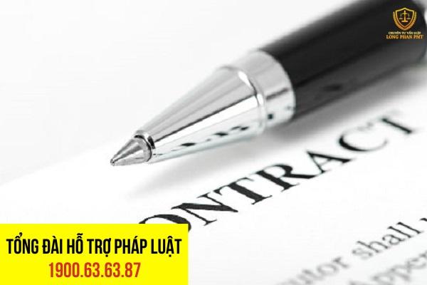 Cách ghi tên gọi hợp đồng và chủ thể của hợp đồng