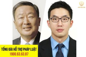 Chủ tịch Koo Bon-Moo và người con trai nuôi