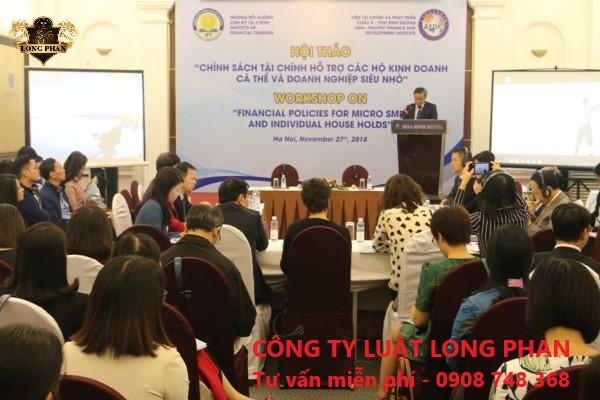 Hội thảo hỗ trợ doanh nghiệp siêu nhỏ