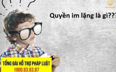 Lịch Sử Ra Đời Của Quyền Im Lặng Và Thực Tiễn Áp Dụng Tại Việt Nam
