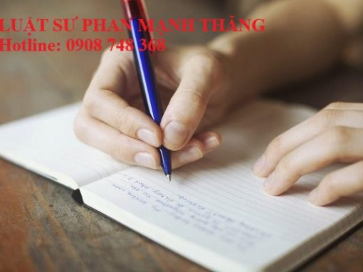 Hình ảnh Di chúc viết tay có hiệu lực nếu đáp ứng được các quy định của pháp luật