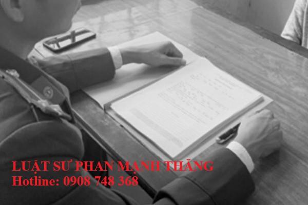 Khung pháp lý cho hành vi chống người thi hành công vụ