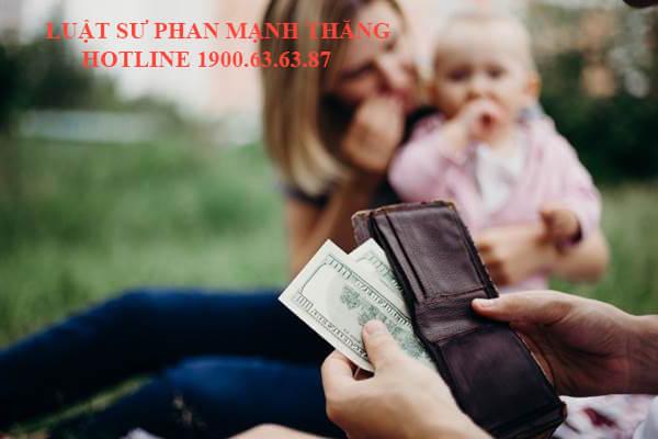Hướng dẫn thủ tục khởi kiện yêu cầu cấp dưỡng tiền nuôi con sau ly hôn