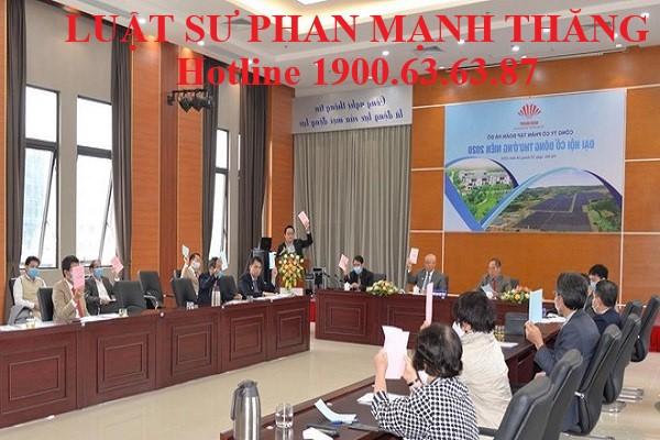 Các hình thức thông qua một nghị quyết của Đại hội đồng cổ đông