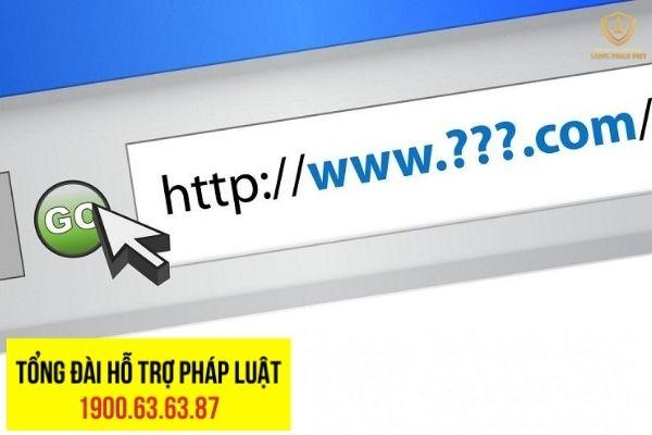 Hướng giải quyết tranh chấp liên quan đến tên miền website