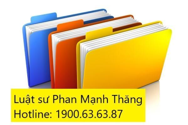 Hồ sơ giải thể chi nhánh/văn phòng đại diện