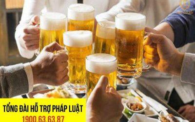 Mức phạt đối với hành vi uống rượu bia gây tai nạn giao thông