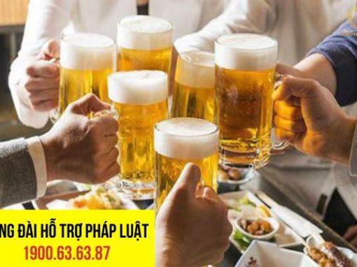 Mức phạt đối với hành vi uống rượu bia gây tai nạn giao thông là như thế nào?