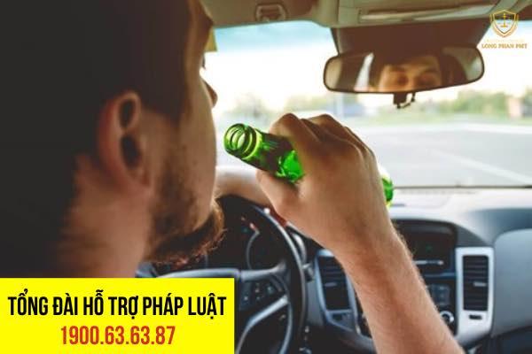 Trách nhiệm hình sự khi say rượu lái xe