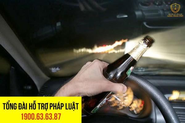 Xử phạt hành chính đối với hành vi uống rượu lái xe