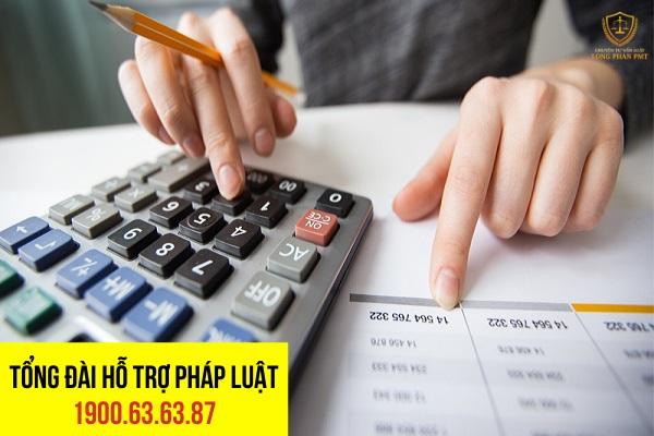 Các khoản thuế liên quan