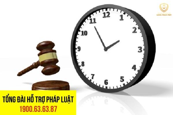 Thời hạn khiếu nại theo quy định pháp luật