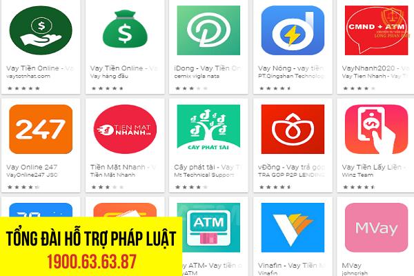 Các app cho vay tiền trực tuyến có hợp pháp hay không?