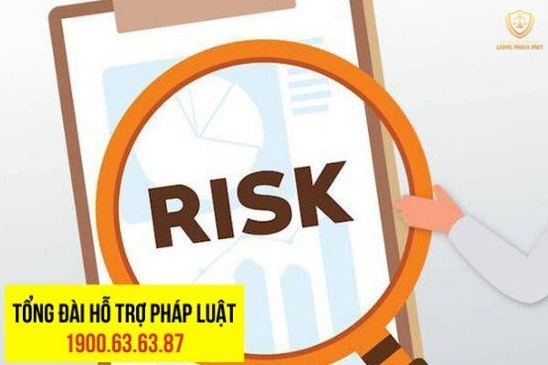 Dấu hiệu thường thấy để nhận biết một hệ thống quản lý rủi ro không hiệu quả