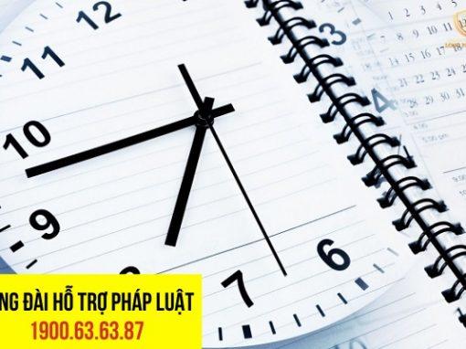 Pháp luật quy định cụ thể thời gian để giải quyết các giai đoạn của vụ án hình sự
