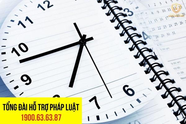 Thời gian giải quyết vụ án hình sự là bao lâu?
