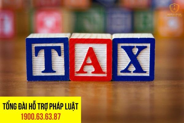 Các loại phí, thuế phải nộp dựa trên giá trị hợp đồng