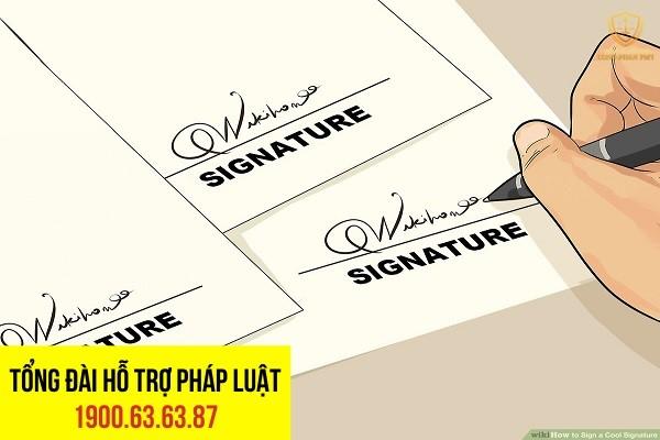 giả mạo chữ ký chuyển nhượng quyền sử dụng đất có chịu trách nhiệm hình sự