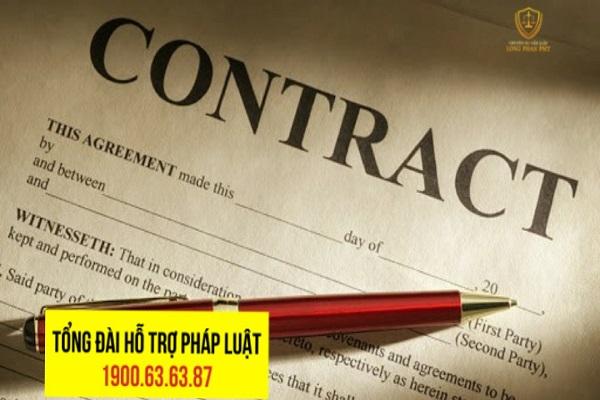 Hình thức của hợp đồng