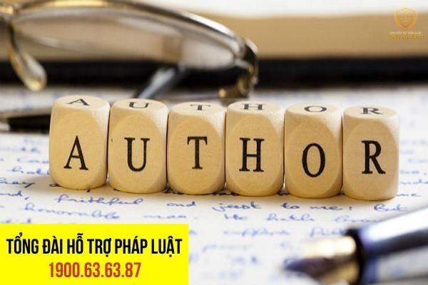 những đối tượng được đăng ký quyền tác giả